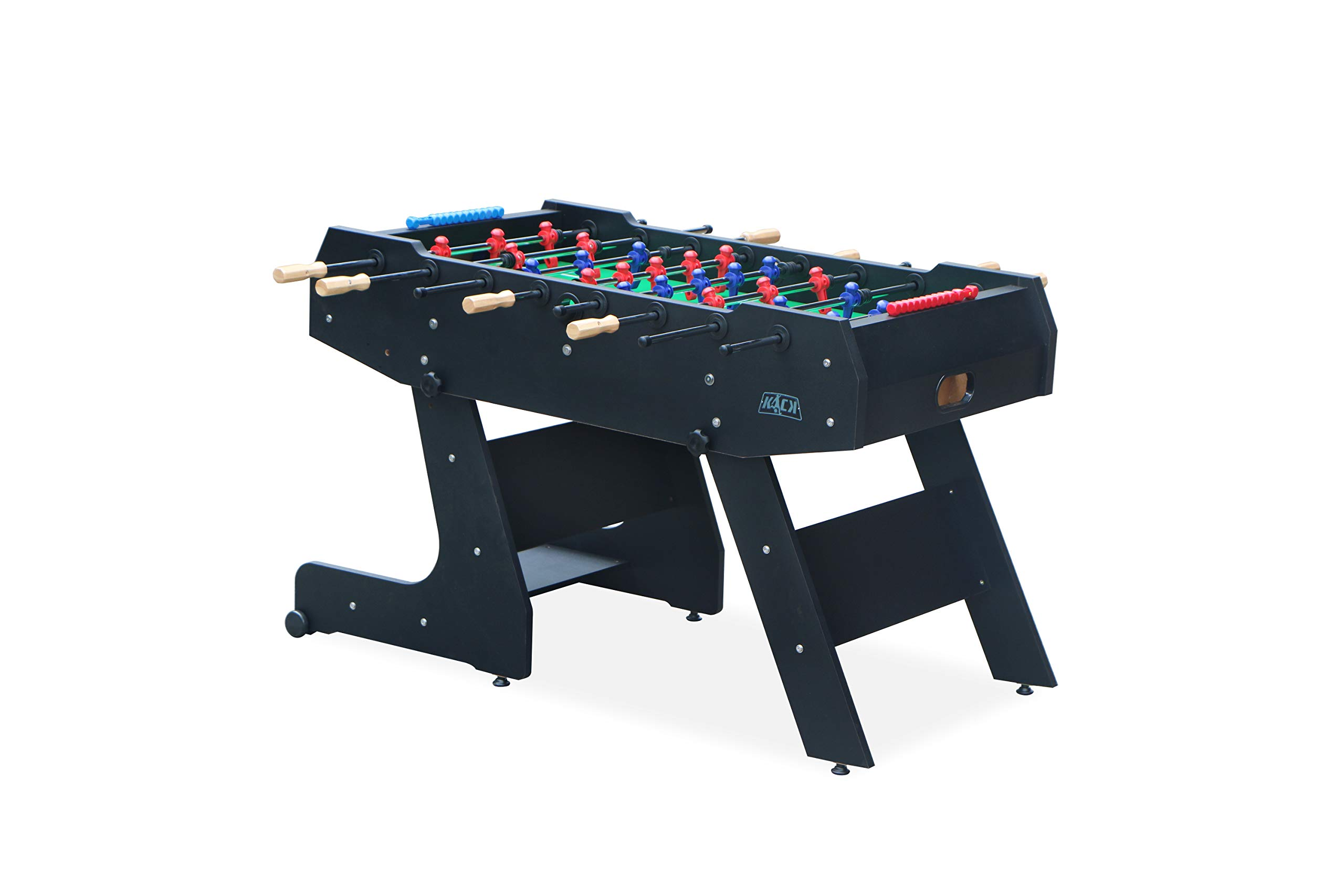 KICK Majesty 55″ in Folding Foosball Table (Black) by KICK