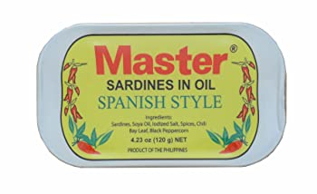 Master Sardines in Oil Spanish Style