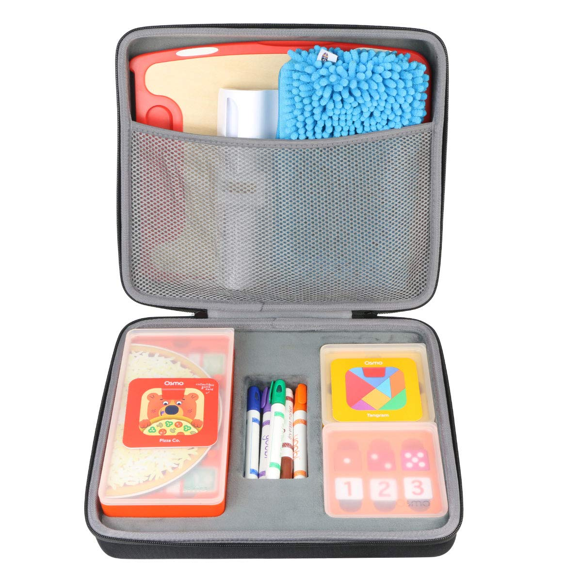 Co2Crea Organizer Case Replacement for OSMO Creative Set (fits Monster Game/Coding Jam/Coding Awbie Game/Starter Kit/Genius kit, Can't to fit The Fire Tablet) by Co2Crea