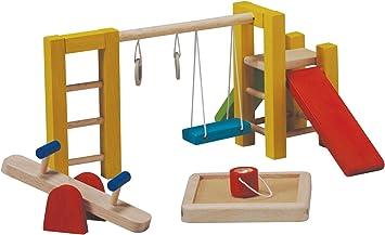 PlanToys Playground - Juegos de rol (Estuche de Juego, 3 año(s), Niño, Niño/niña, Multicolor, Madera): Plan Toys 7153 Playground: Amazon.es: Juguetes y juegos