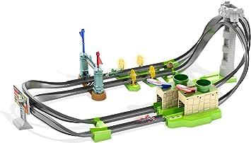 Hot Wheels Mario Kart Pista de coches de juguete para niños +5 ...