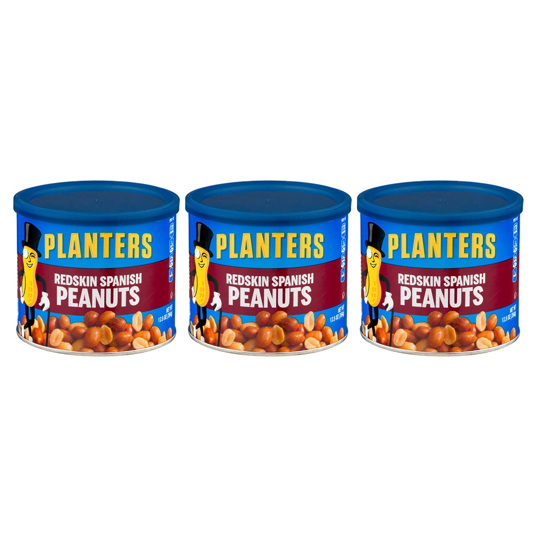 Planters Redskin Spanish Peanut 12.5 OZ (Pack of 3)