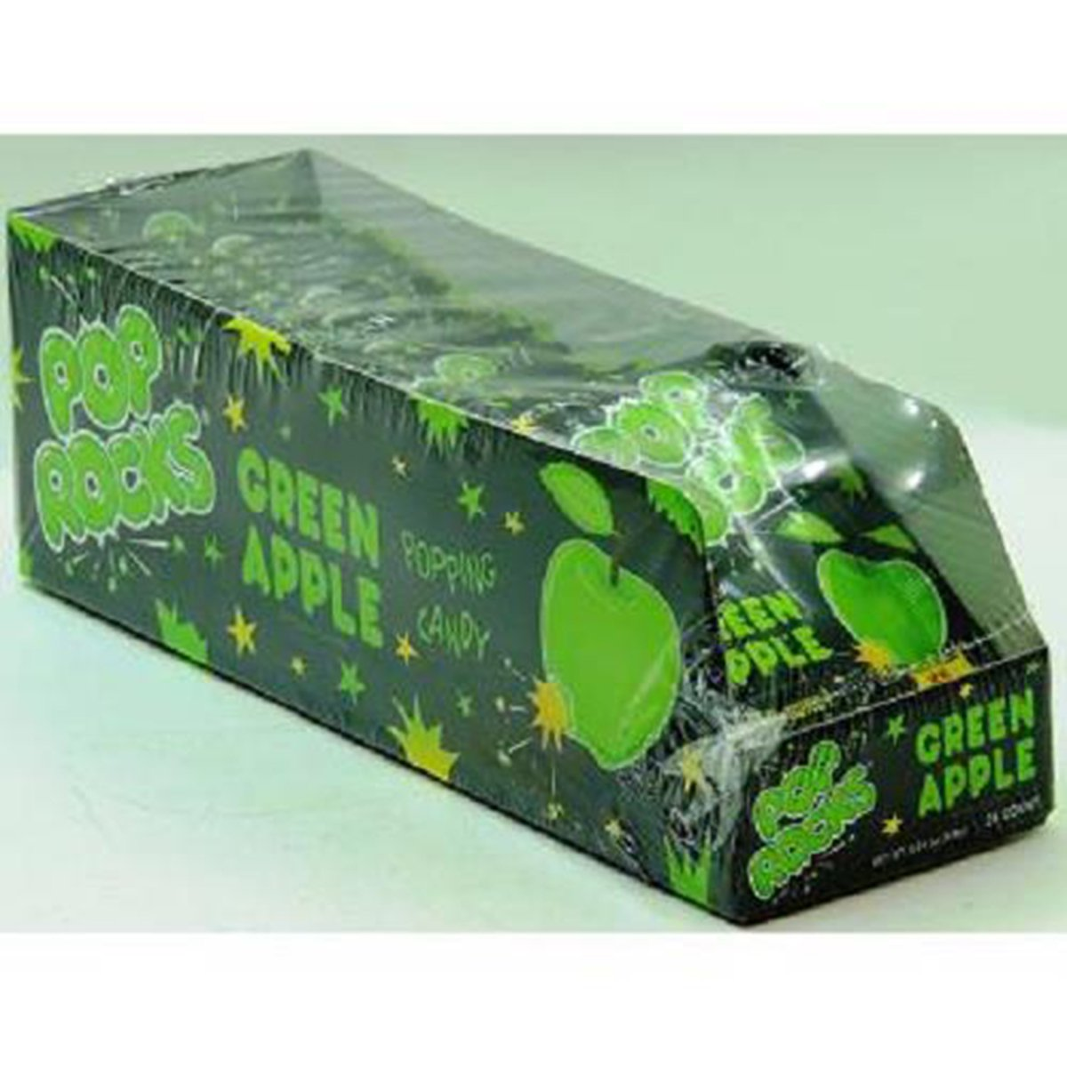 Product Of Pop Rocks, Green Apple, Count 24 (0.33 oz) - Sugar Candy / Grab Varieties & Flavors