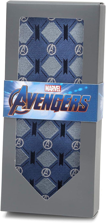 Marvel Avengers Argyle Blue Tie Officially Licensed