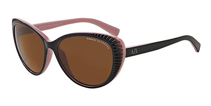fb27e0a47f Image Unavailable. Image not available for. Color: Armani Exchange Women AX  4013 805573 Black ...