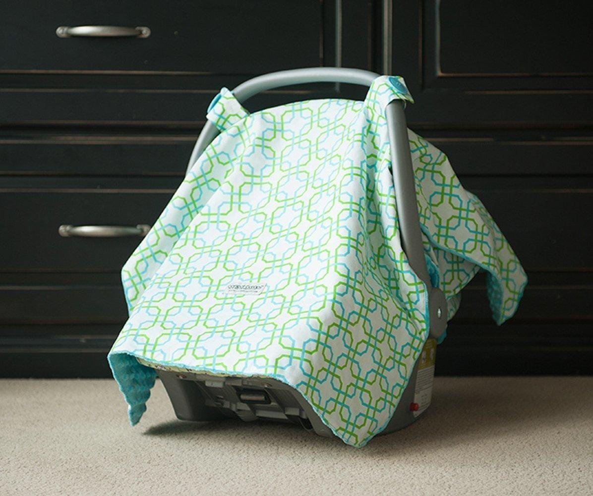 Amazon Carseat Canopy Hayden Baby Infant Car Seat Cover W Attachment Straps And Minky Fabric