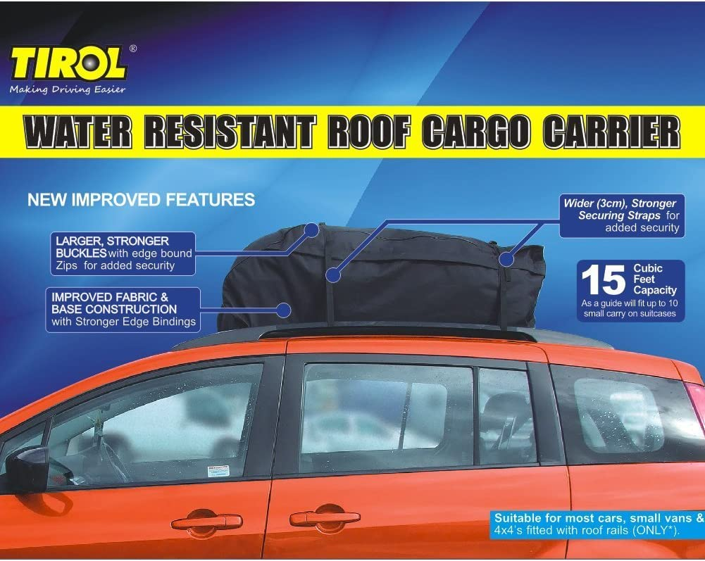 Tirol Housse-coffre de toit imperm/éable universelle pour voiture