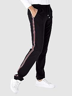 Laisla fashion Umstand Hose Lang Elegante Schwangerschaftshose Umstandshose Mit Classic Bauchband Mutterschaft Freizeithose Klassiker Einfarbig Basic Casual Frauen
