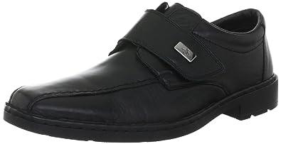ef613abbea313b Rieker Men s Lord Classical Boots Black Leder Uniform Dress Shoes 44