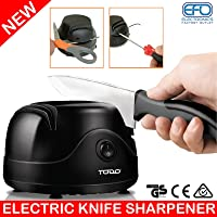 TODO New Electric Knife Sharpener Knive Scissors Screwdriver Tool Kitchen Blade Sharp