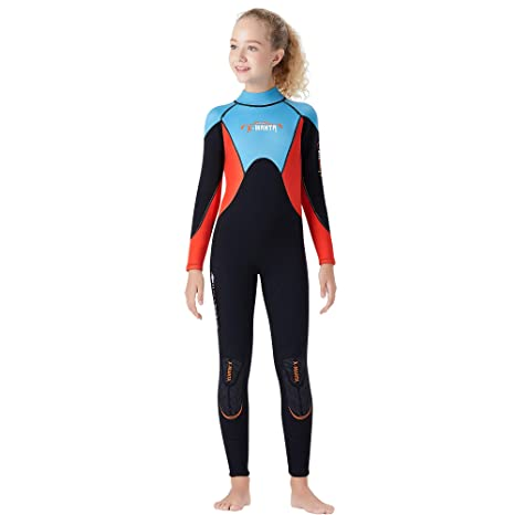 TENMET - Traje de Neopreno Flexible para niños de 2,5 mm ...