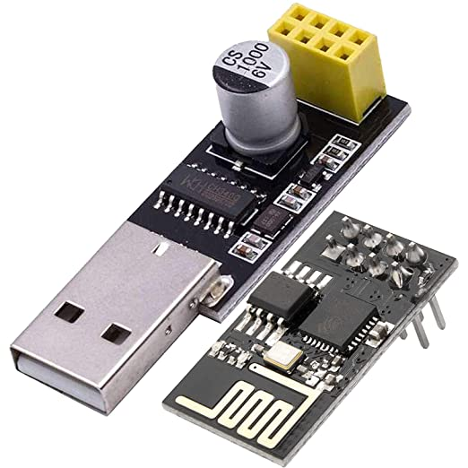 1x ESP01 Programmierer Adapter UART GPIO0 ESP-01 Adapter ESP8266  X
