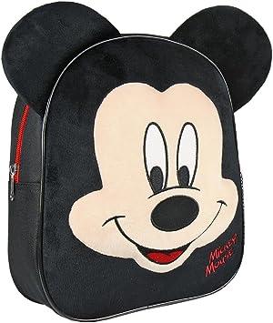 Cerdá Mickey Children/'s Backpack Black Negro 28 cm