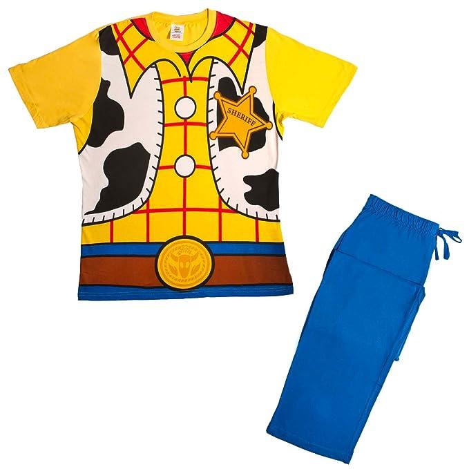 Pijama para hombre con diseño de personajes de cómic y animació
