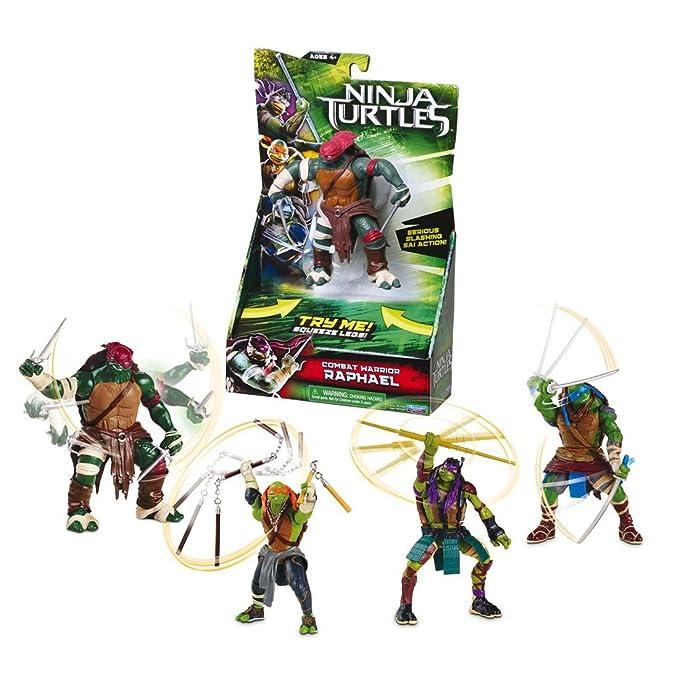 Giochi Preziosi - Figura Tortugas Ninja Deluxe: Amazon.es ...