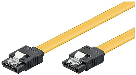 230 opinioni per Wentronic Cavo SATA, 6 GBits, 0,5 m, Clips SATA L-Type, Giallo