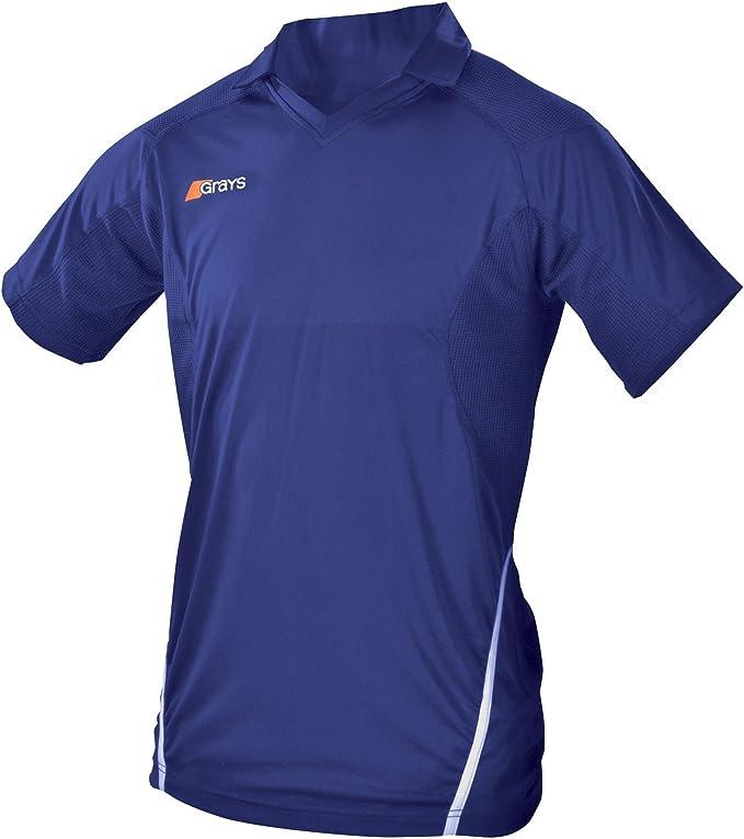 Grays - Camiseta de deporte con cuello de polo y manga corta ...