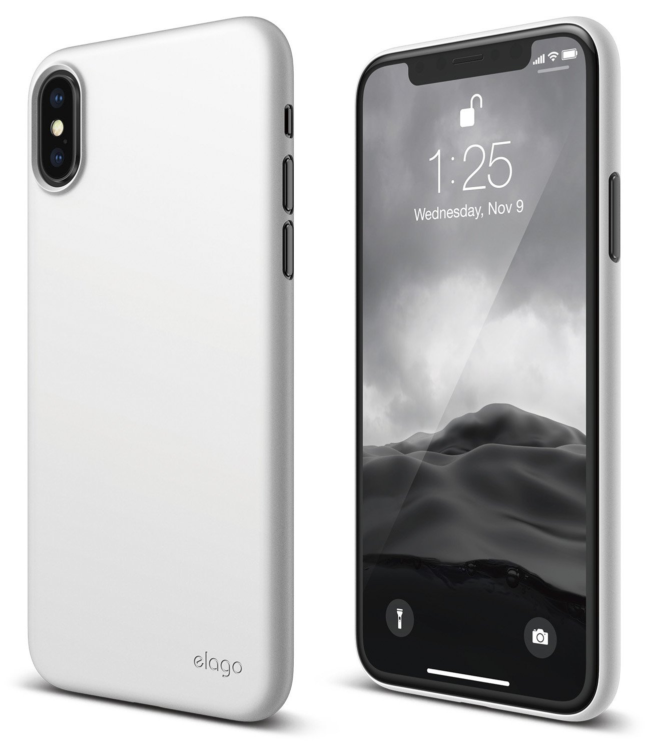 sale retailer f3035 b6b5c elago Origin Series for iPhone Xs, iPhone X Case - Minimalistic Design Slim  Fit Scratch Resistant Protective Cover for Apple iPhone Xs (2018)/ iPhone  ...