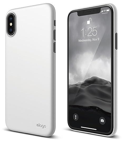 sale retailer 0841d 5ea38 elago Origin Series for iPhone Xs, iPhone X Case - Minimalistic Design Slim  Fit Scratch Resistant Protective Cover for Apple iPhone Xs (2018)/ iPhone  ...