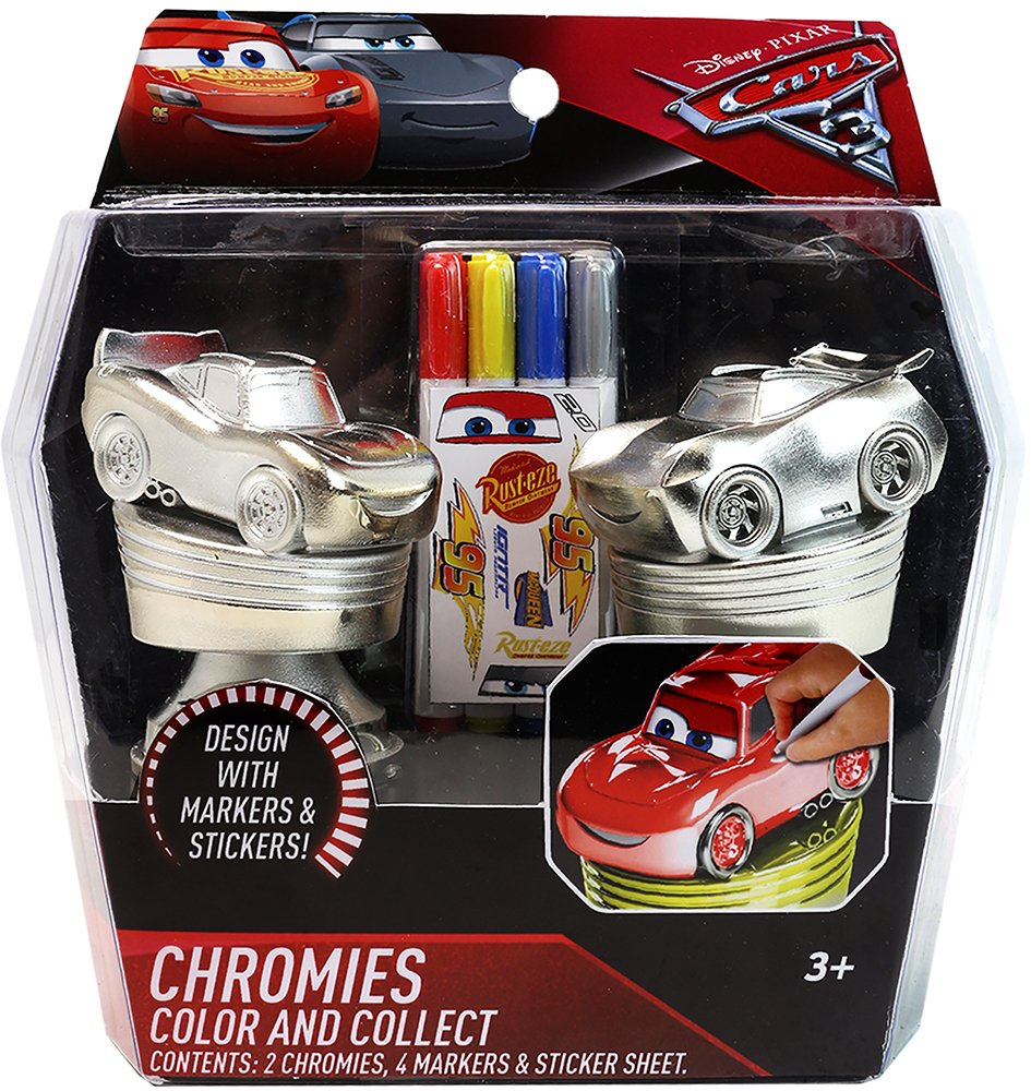 Co color in cars activity - Disney Pixar Cars 3 Chromies Color N Collect Activity Playset Hot Sale 2017