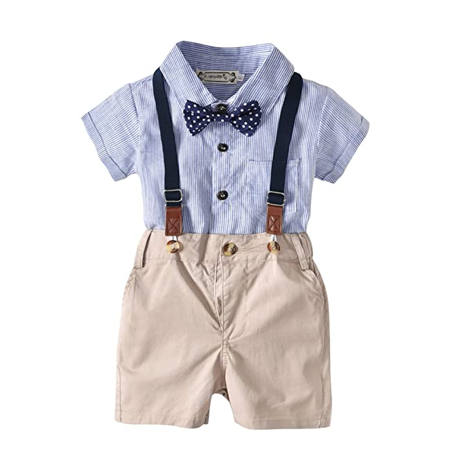 Traje Infantil, Traje de niño, Camisa de Manga Corta + ...