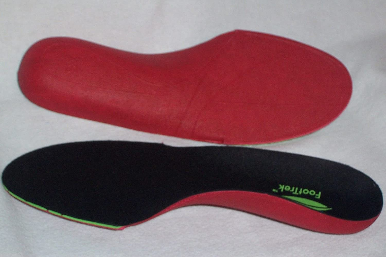 3 de alto rendimiento de alto rendimiento de pares de formas de - FootTrekTM resistente al calor pigmentos ayuda máxima órtesis plantillas para calzado de datos más actualizados resultan de lo más úti