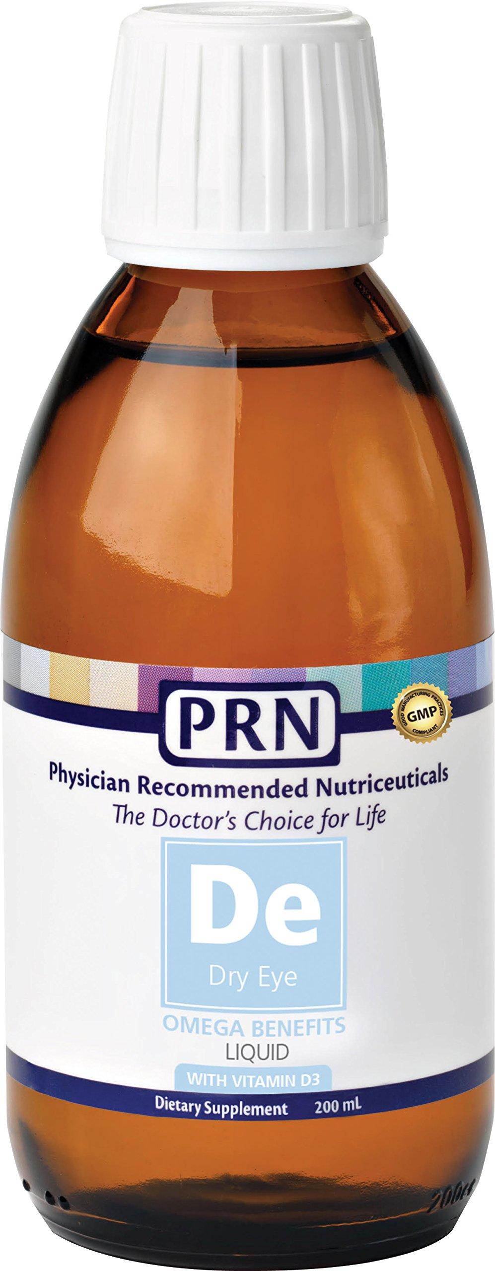 PRN DE Dry Eye Omega Liquid with vitamin D3 200ml by PRN (Image #1)