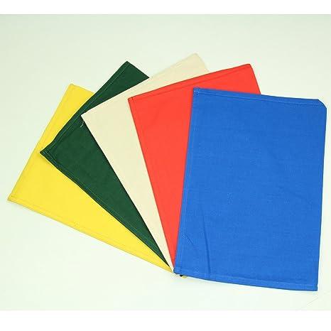 15454e43d6 2 x Sacchetti resistenti e professionali in tessuto per monete/contanti/banconote,  in