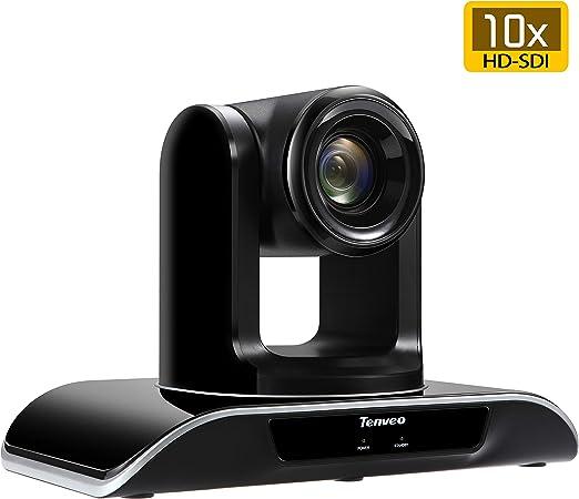 Tenveo 10X-SDI Optical Zoom Video Conference Camera Full HD 1080p HDMI HD-SDI PTZ conferencing Camera for Business Meetings (10X Zoom TEVO-VHD10N)