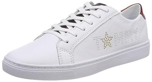 Tommy Hilfiger Tommy Star Metallic Sneaker, Zapatillas para Mujer: Amazon.es: Zapatos y complementos