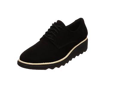 Clarks Sharon Noel, Zapatos de Cordones Derby para Mujer