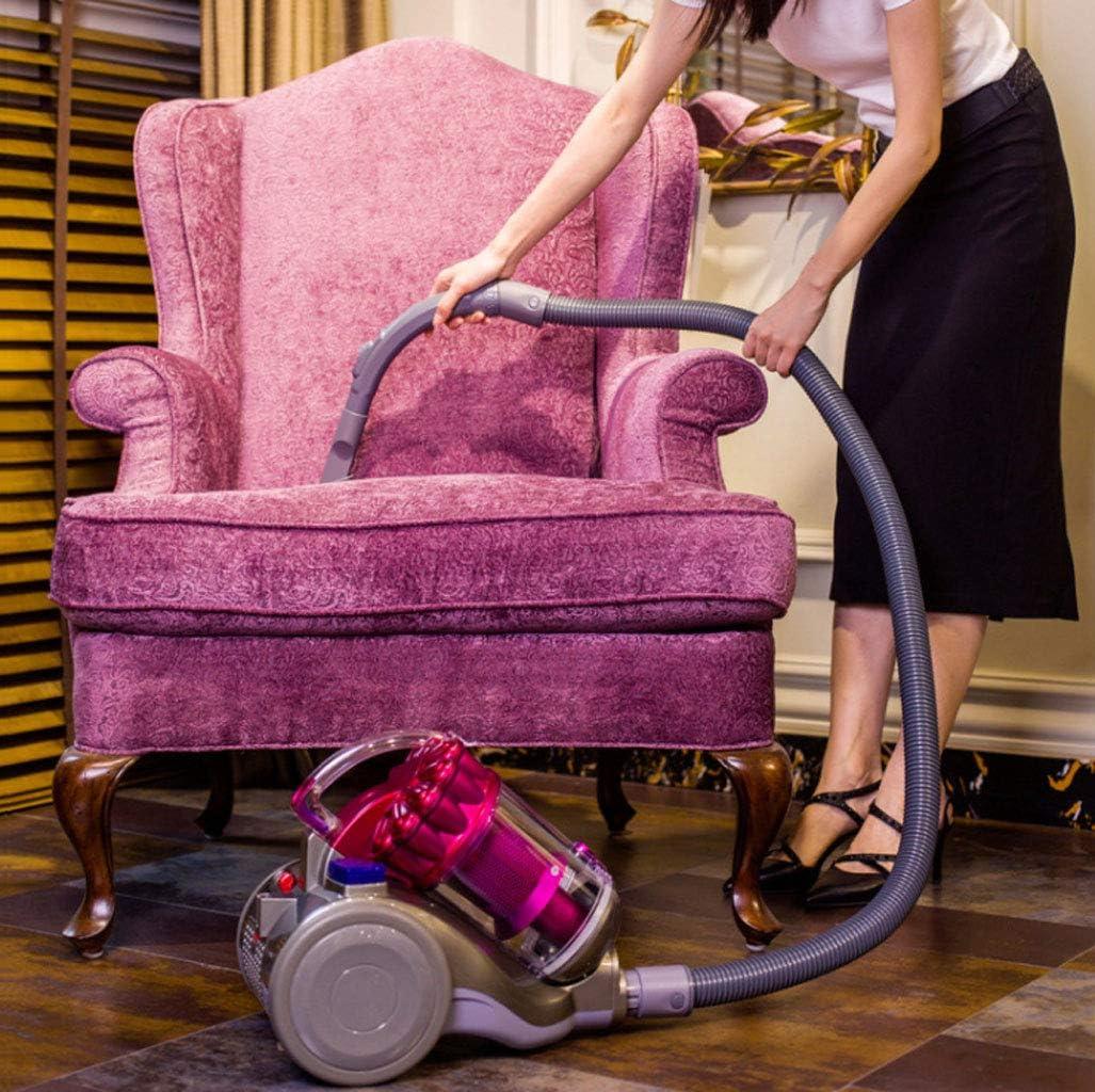 Aspirateur Aspirateur ménager, aspirateur cyclone multi-étages, acariens, haute puissance 2600W Aspirateur (Couleur : Bleu) Pink
