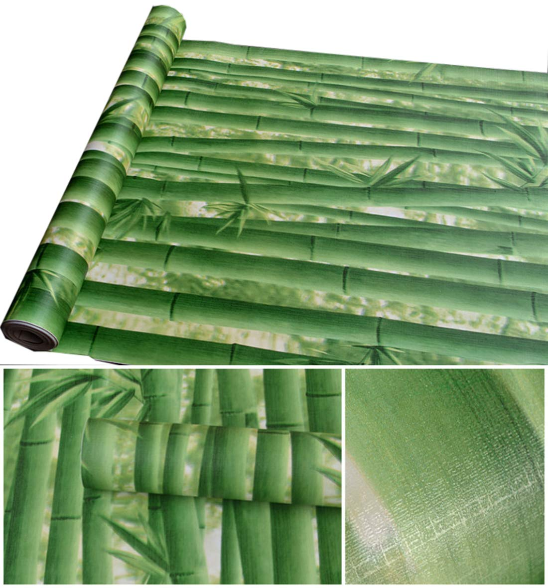 Amazon com: Green Bamboo Contact Paper self Adhesive Shelf