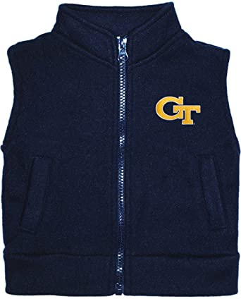 Georgia Institute of Technology Yellow Jackets Baby and Toddler Polar Fleece Vest