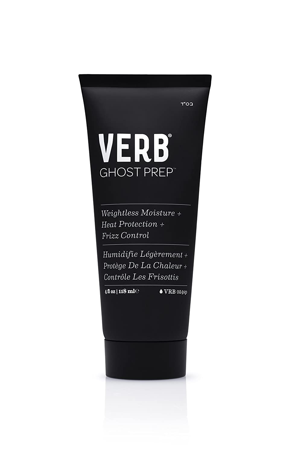 VERB GHOST PREP - 4oz (Weightless Heat Protect & Frizz Control)