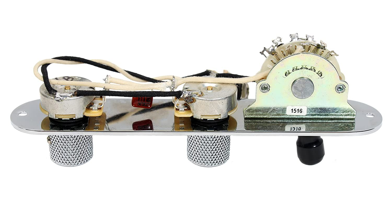 711%2BVWqUHnL._SL1500_ amazon com fender tele telecaster 4 way control plate w oak dimarzio twang king wiring diagram at crackthecode.co