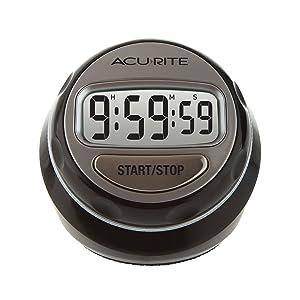 AcuRite 00285E Digital Twist Timer, Multicolor