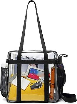 Amazon.com: iSPECLE bolsa transparente, bolsa de estadio ...