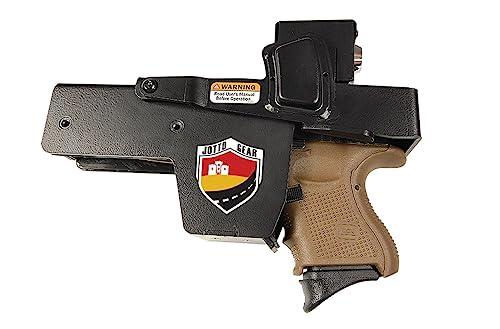 Jotto Gear Quick Access Locking Handgun Holster for Car