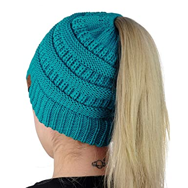 Easy-W Teal Winter Hats for Women Slouchy Beanie Snow Ski Knit Warm ... ebcb70df7cc