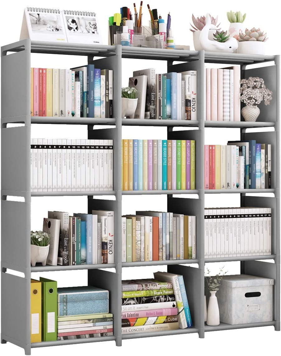 Rerii Cube Storage, 11 Tier 11 Cubes Organizer Shelves, Bedroom Storage,  Clothes Organizer, DIY Closet Bookcase Shelve for Living Room, Study Room,