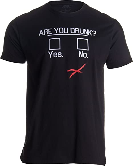 2f895769 Amazon.com: You Drunk?   Funny Beer Drinking, Bar Party Humor Gag ...