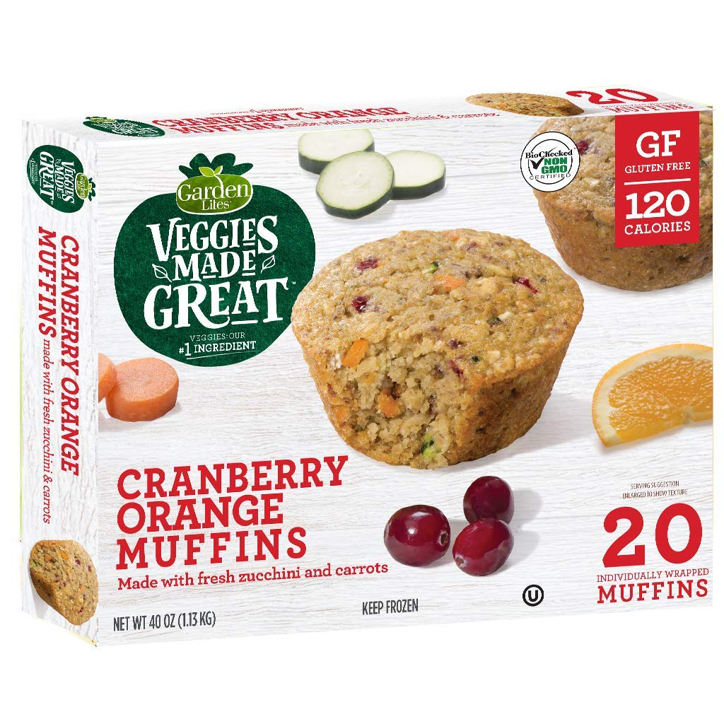 Veggies Made Great Cranberry Orange Muffins by Garden Lites
