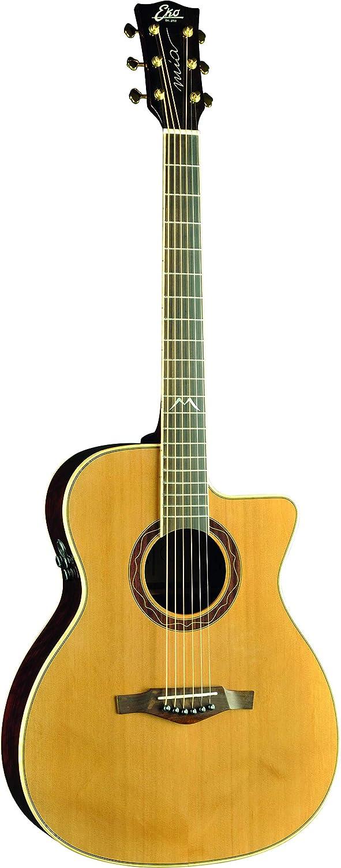 EKO MIA IV 018 CW Eq Natural - Guitarra acústica eléctrica
