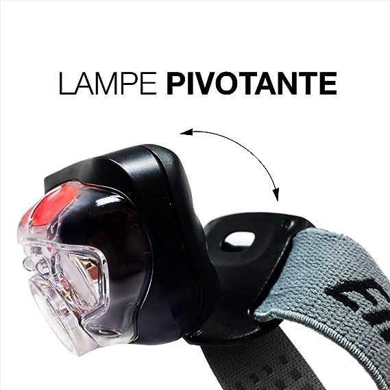 Energizer Vision HD FOCUS LED Lampe de tête mains libres FRONTALE 300 Lumens