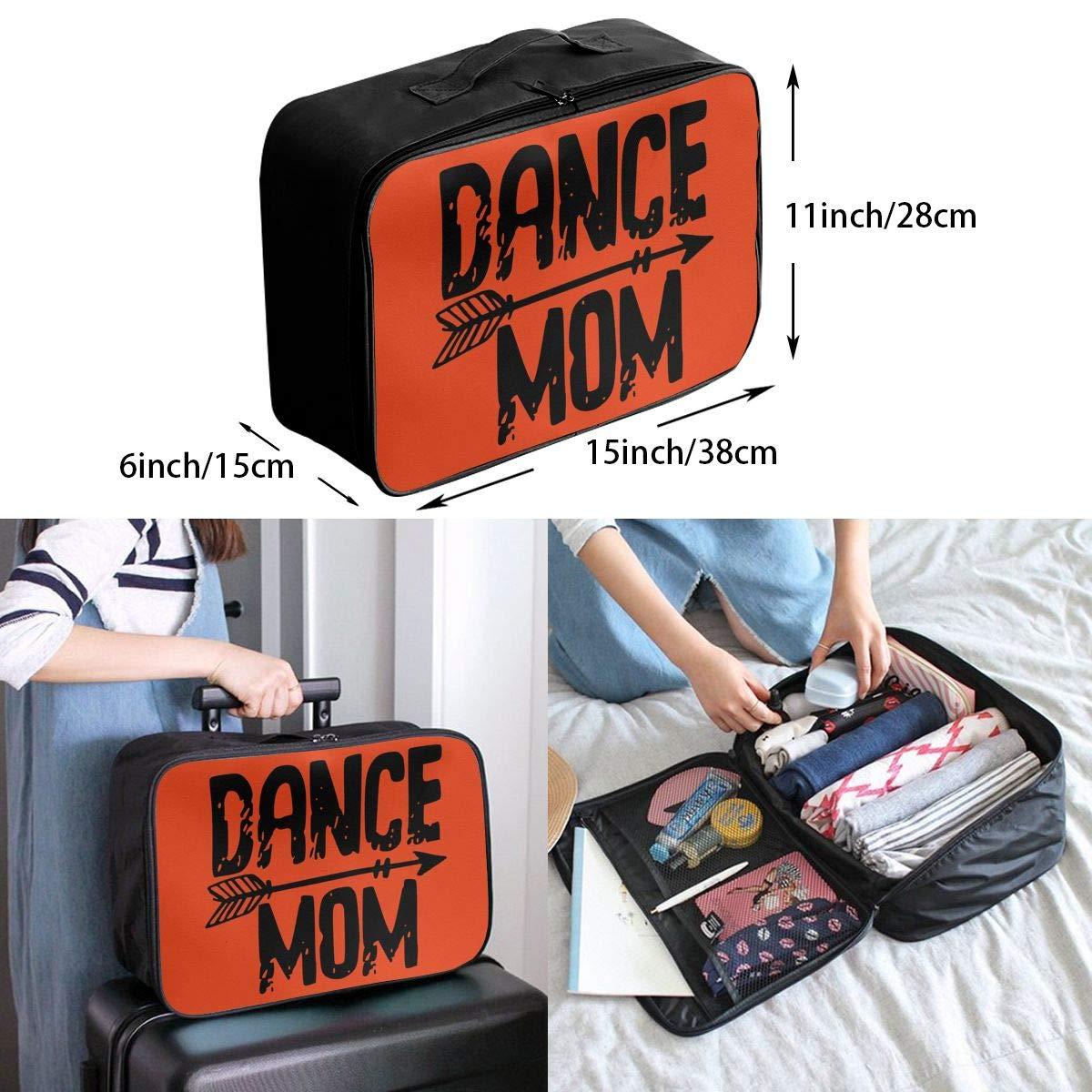 Travel Luggage Duffle Bag Lightweight Portable Handbag Dance Mom Large Capacity Waterproof Foldable Storage Tote