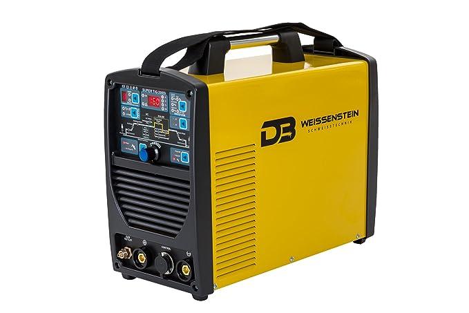 Maquina de soldar | Soldadora Inverter AC/DC/WIG/TIG/MMA 200A es un inversor de soldadura de procesos múltiples perfecto: Amazon.es: Bricolaje y ...