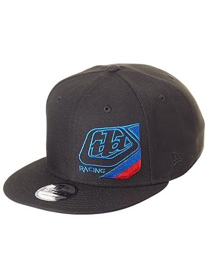 f00690948 Troy Lee Designs New Era Black Precision Snapback Cap: Amazon.co.uk ...