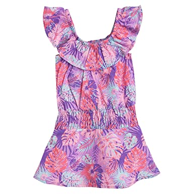 00322fcf3a683 Amazon.com: OFFCORSS Toddler Girl Swimming Suit Cover up Beach Dress Trajes  de Baño Niñas: Clothing