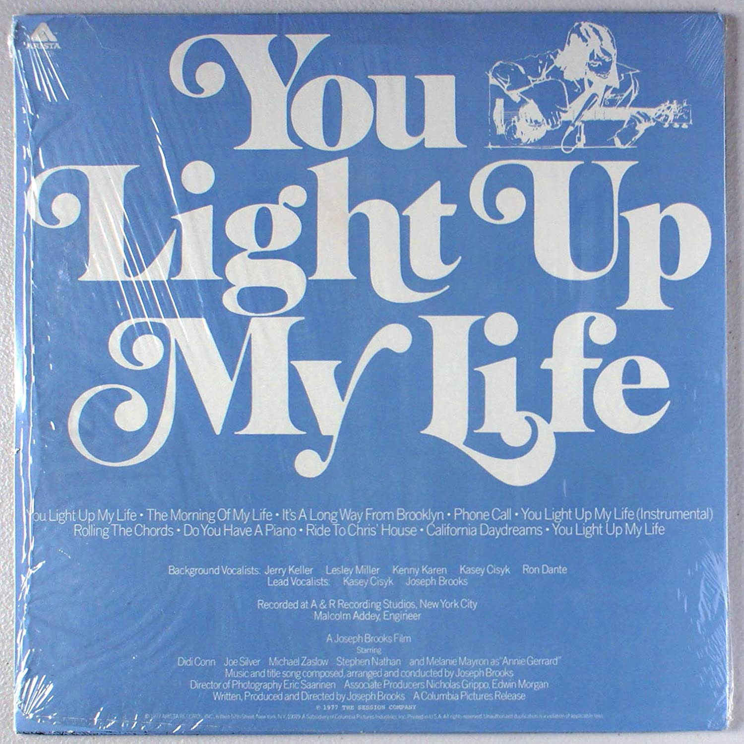 Joseph Brooks, Kasey Cisyk - You Light Up My Life: Original Soundtrack - Amazon.com Music